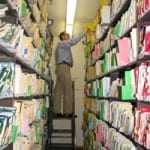School Records Scanned and Stored Digitally